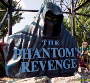 Kennywood Phantom's Revenge Roller Coaster