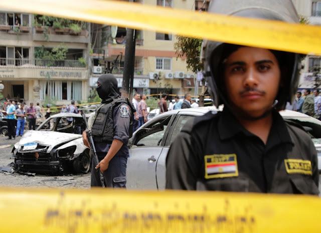 Atak bombowy w Kairze