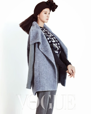 Cha Ye Ryun - Vogue Magazine October Issue 2013