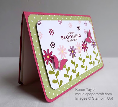 Stampin' Up! Flower Patch, Happy Blooming Birthday