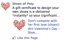22 Michaels Facebook Advertising Valentine S Day Gift Certificates