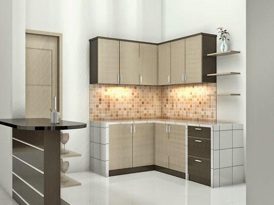 gambar dapur kecil sederhana desain dan konsep 2015