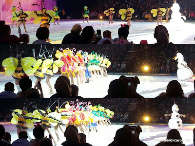 Disney On Ice 2015 Olaf Summertime song Frozen Snow