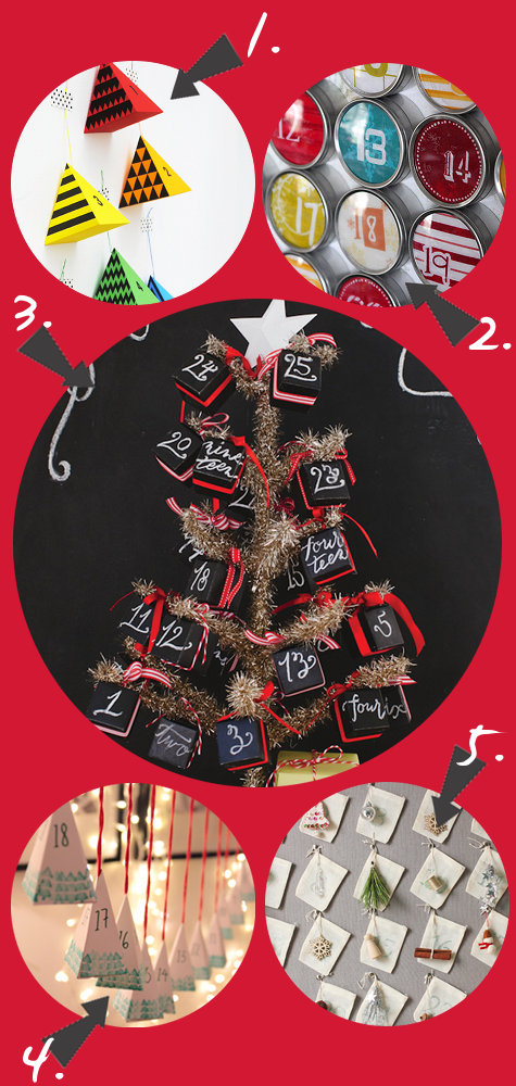 Printable Advent Calendars and Other DIY Homemade Advent Calendar Ideas