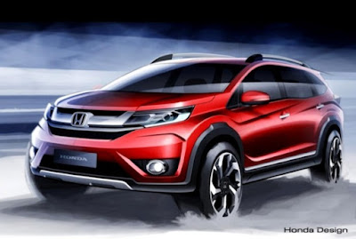 Novo Honda BRV 2016 7 lugares