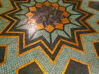 Freemasons' Hall, The United Grand Lodge of England Freemason_floor_+seven_pointed_star