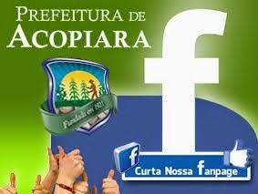 Fanpage da Prefeitura de Acopiara