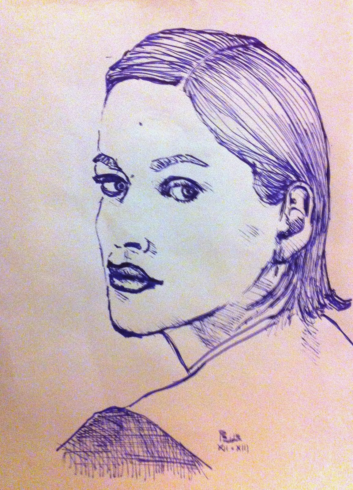 Peut Etre (Blu inchiostro stilo)