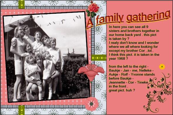 Aug.2016 - A family gathering  ATC