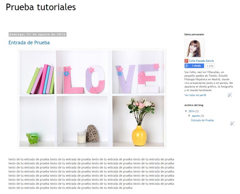 Como añadir bordes en Blogger