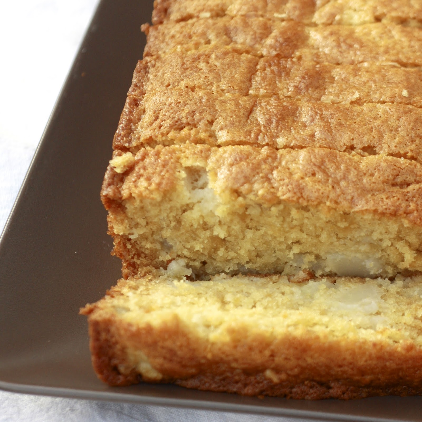 Ginger Pear Loaf Cake | The Sweets Life