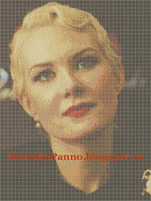 Мозаичное панно «Рената Литвинова»