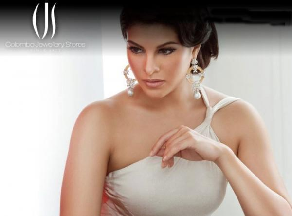 Jacqueline Ferndandezs Latest Beautiful Colombo Jewellery Stores Ads wallpapers unseen pics