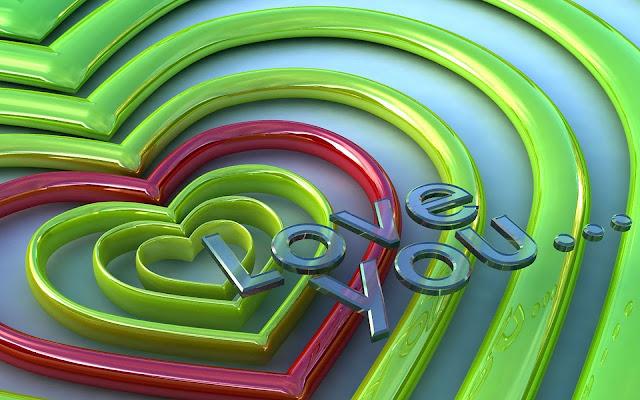 Aabstracte liefdes hartjes