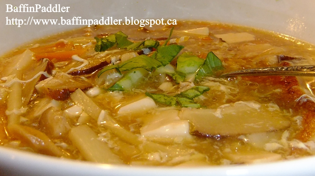 ... for hot and sour soup yes here it is this is my favourite hot and