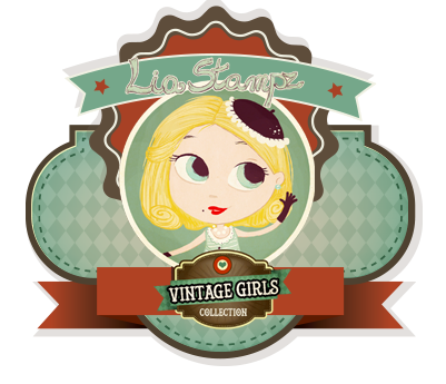 LiaStampz Vintage Girls Collection