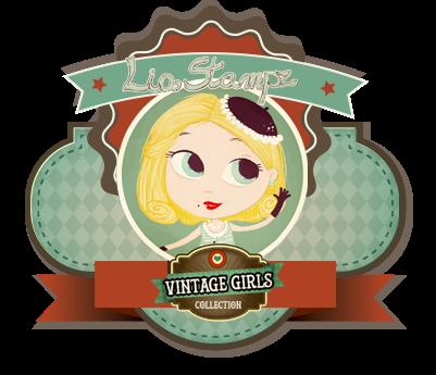LiaStampz Vintage Girls Collection