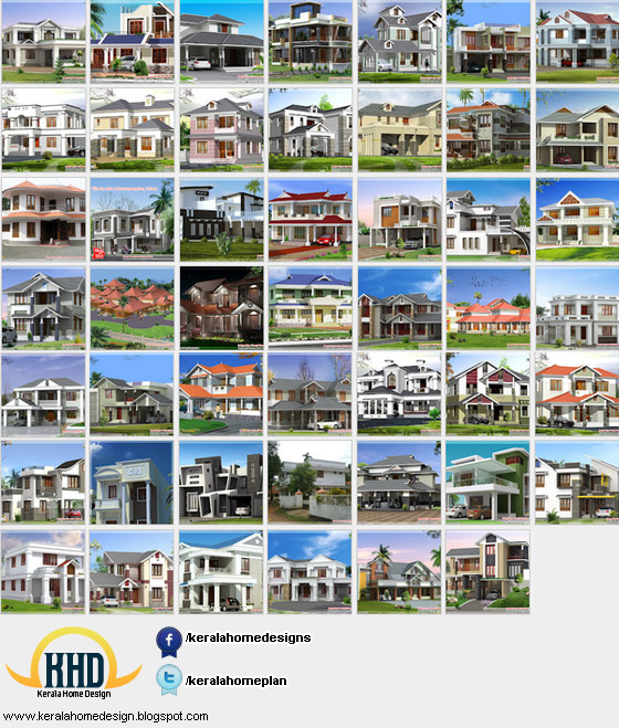 beautiful indian house elevations kerala style house elevation 1600 ...