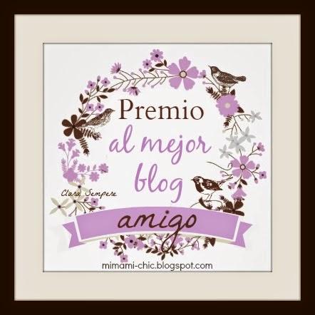 Premio al mejor blog amigo