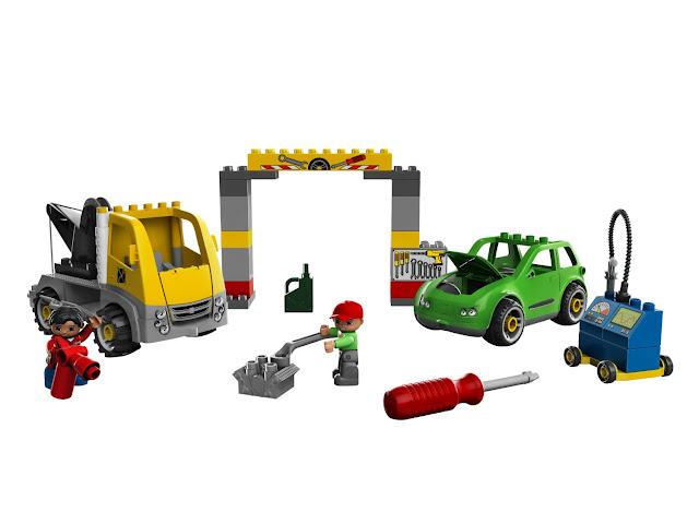 Lego duplo legoville busy garage 5641 for Adventskalender duplo