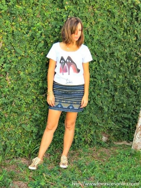 t-shirt Louboutin