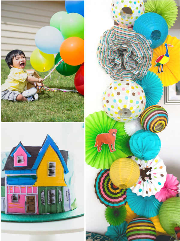 An UP Inspired Balloon 1st Birthday Party Party Ideas Party