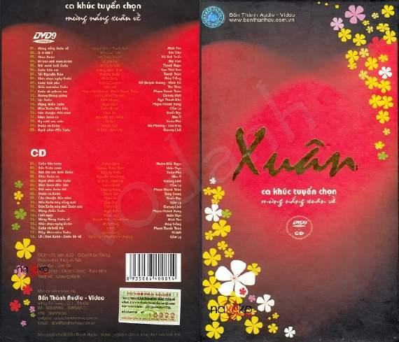[Nhạc Xuân] Mừng Nắng Xuân Về NTSC DVD9 (mkv) ~ Ca khúc tuyển chọn | Bến Thành Audio & Video