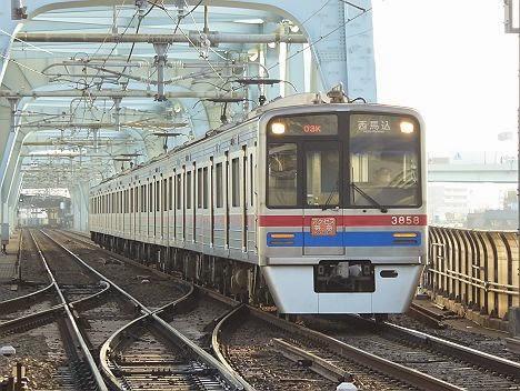 京成電鉄 アクセス特急 西馬込行き 3800形