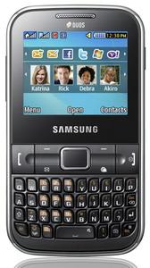 Samsung Ch@t 322 dual SIM QWERTY phone