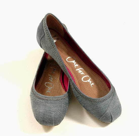 Simple and cute toms ballet flats fashion