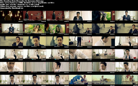 Main Dhoondne Ko Zamaane Mein - Heartless (2014) Full Music Video Song Free Download And Watch Online at worldfree4u.com