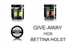 Give away hos Bettina Holst