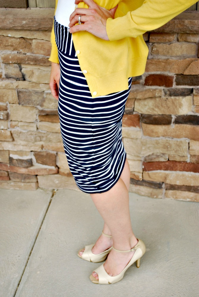 larissa another day pencil skirt from a t shirt