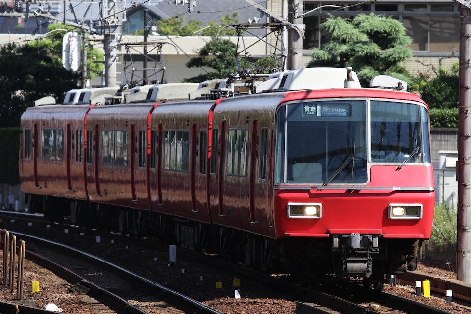 名鉄2200系 2203F 名鉄1200系 1532F   名鉄名古屋本線 金山~神宮前(神宮前