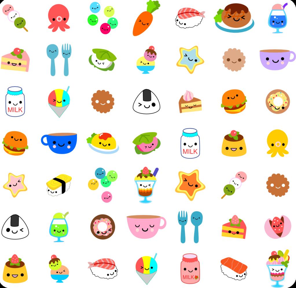 wallpaper food kawaii - photo #14