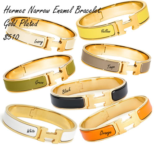 Hermes Bracelet Enamel5