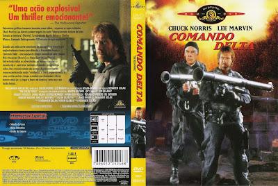 Comando Delta DVD Capa