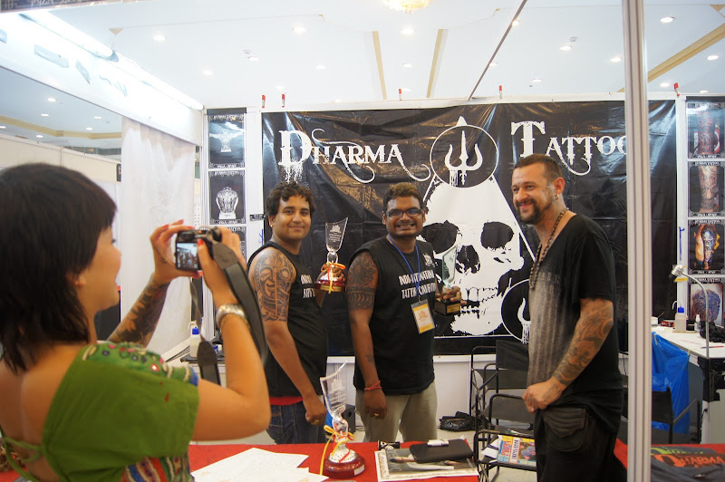 1st India international tattoo convention participant title=