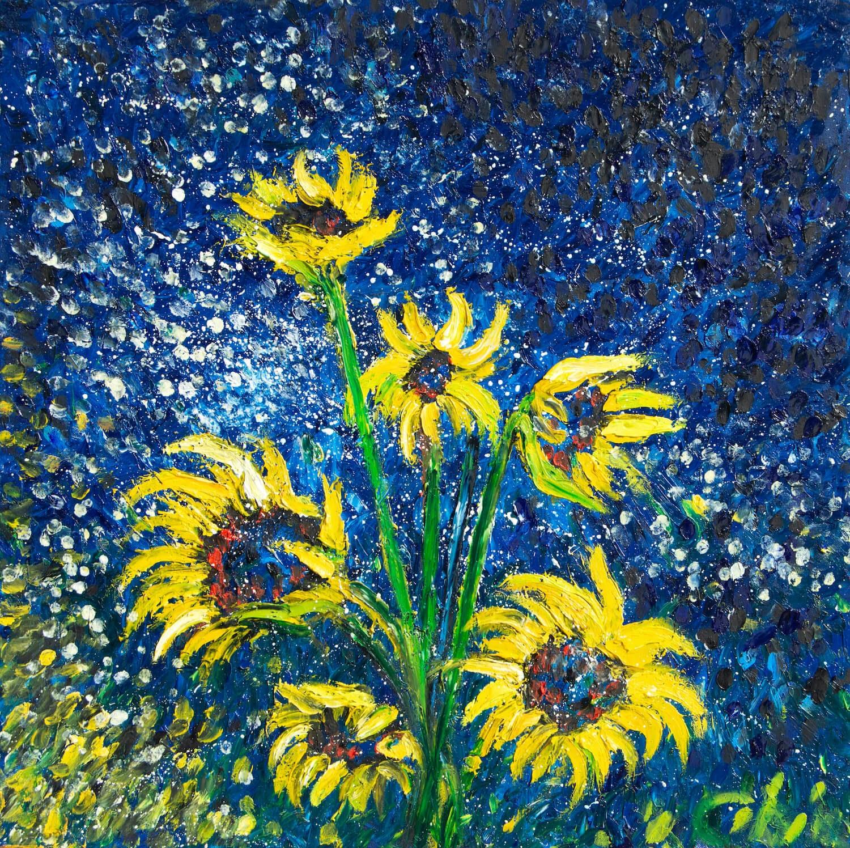 Chiara Magni cosmic sunflowers