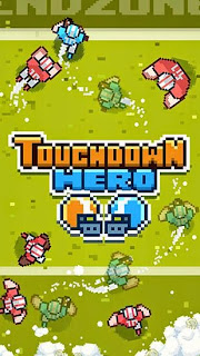 Screenshots of the Touchdown hero for Android tablet, phone.