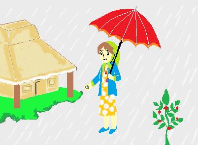 Lili dan payung alice