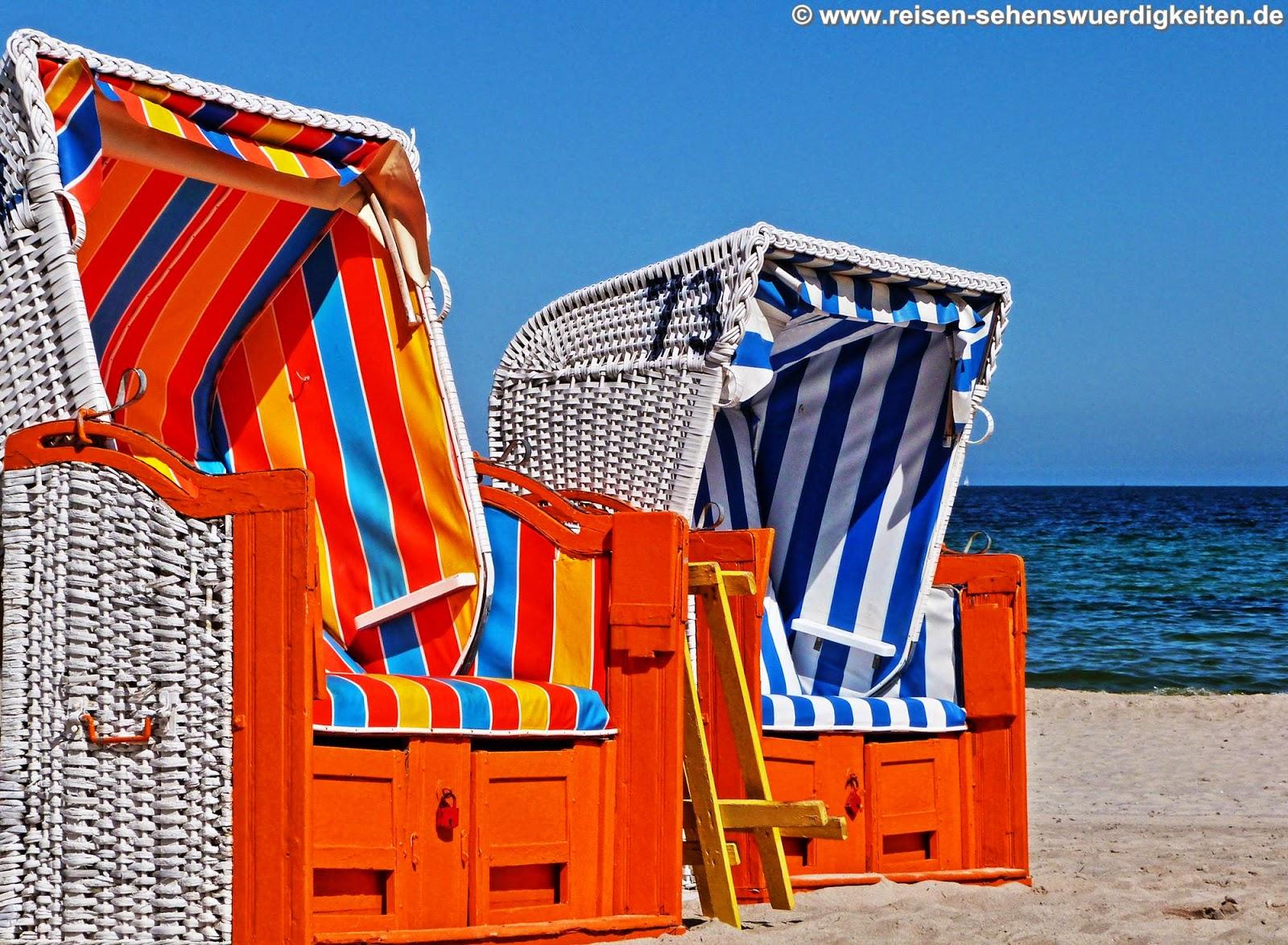 Strandkorb wallpaper  PC Hintergrundbilder kostenlos - Tiere, Natur, Reise, Städte