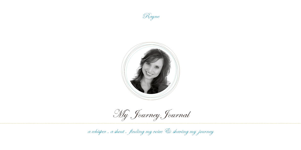 My Journey Journal by Rayne