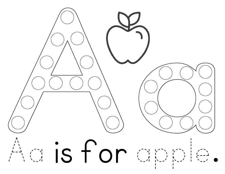 Bright image with regard to free printable apple worksheets