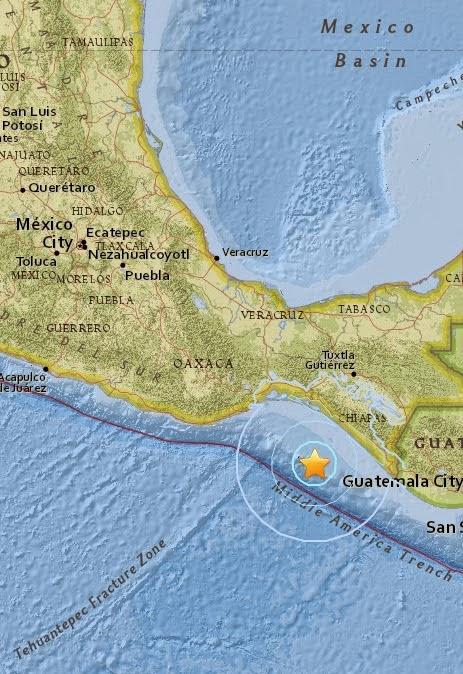 Magnitude 5.6 Earthquake of Tres Picos, Mexico 2015-05-10