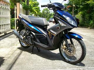 Modifikasi Yamaha Nouvo Elegance