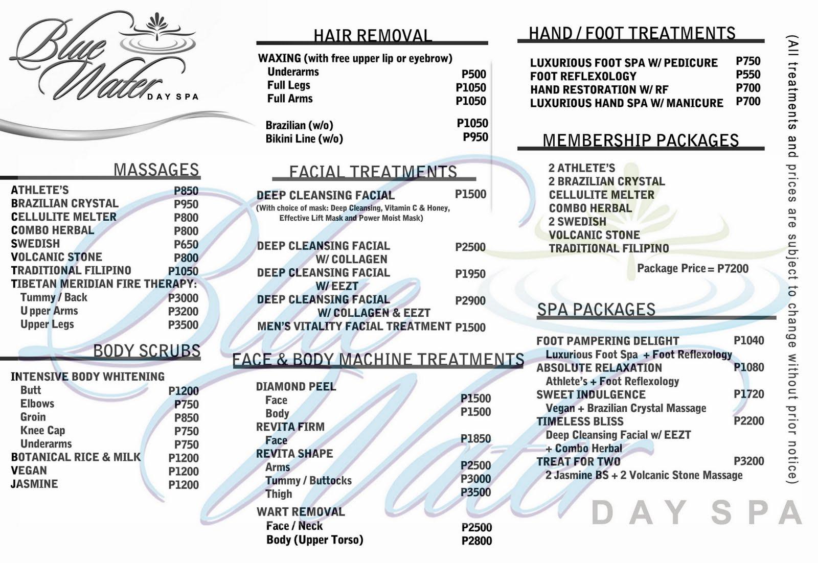 tantra massage brothel price list