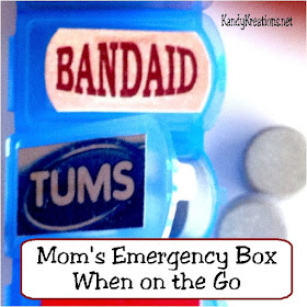 Moms Emergency Box on the Go