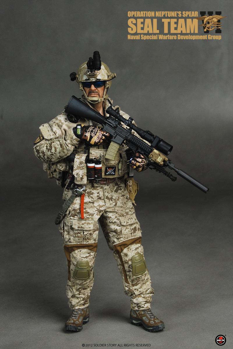 1//6 DAM DAMTOYS Devgru Neptune Spear Geronimo Equipment Lot
