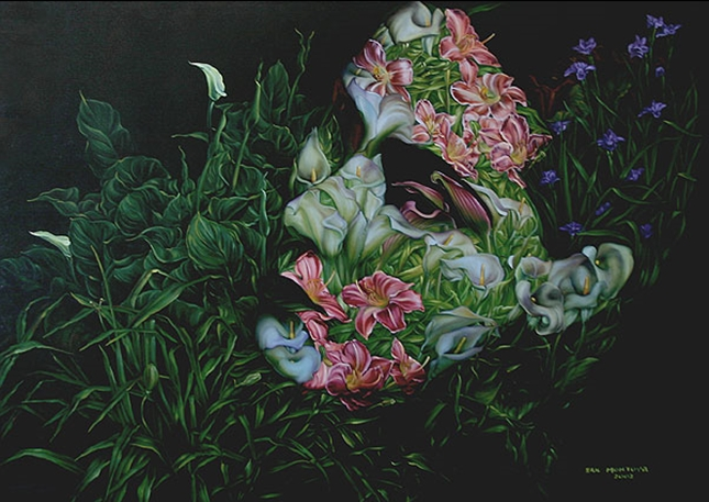 Eric Montoya 1968 | pittore surrealista americano